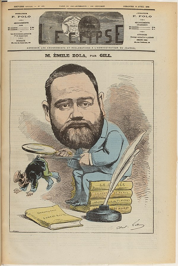 601px zola caricature gill 1877