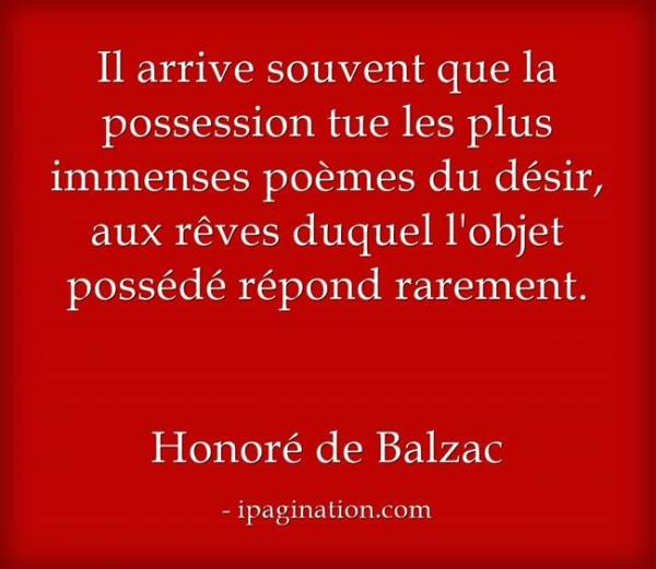 Balzac citation