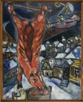 Boeuf écorché, Chagall (1947)